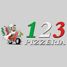 Logo 123 Pizzeria Rödermark
